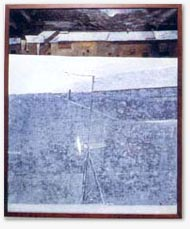 09.Karl Plattner, Winter in Obervinschgau, 1979, mixed media