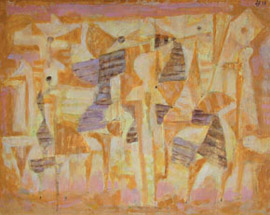 17.Hans Joachim Breustedt, Untitled, oil on cardboard
