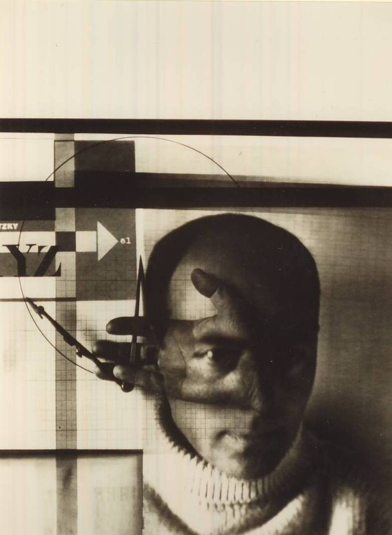 32.El Lissitzky, The draughtsman, 1924, photomontage