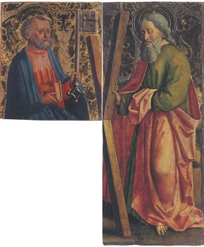 03.Master of Uttenheim, SS. Peter and Andrew, c. 1470