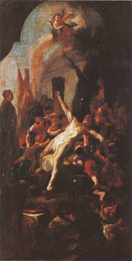 05.Paul Troger, The Martyrdom of St. Cassian, dat. 1753, oil on canvas